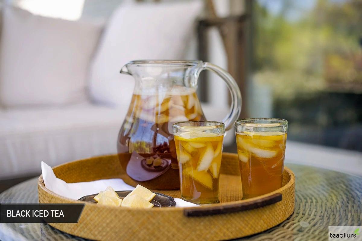 Black iced tea recipe