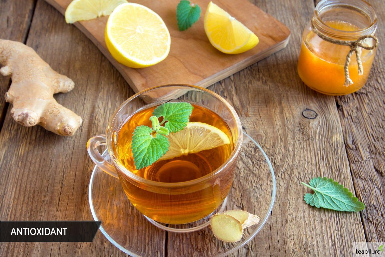 Black tea as antioxidant