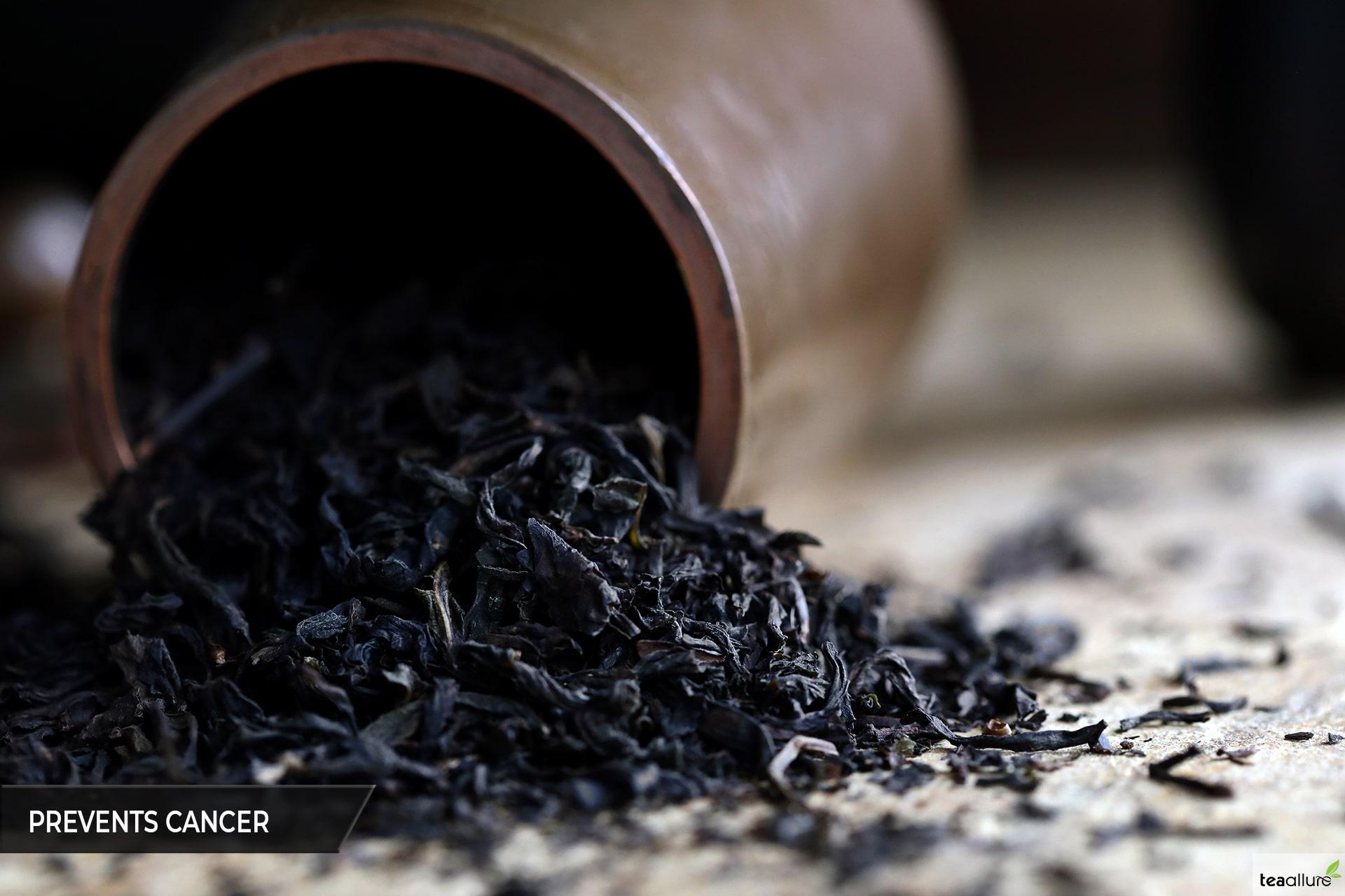 Black tea helps cancer prevention
