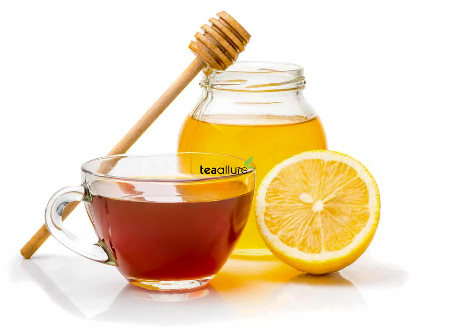 Black tea with lemon & honey