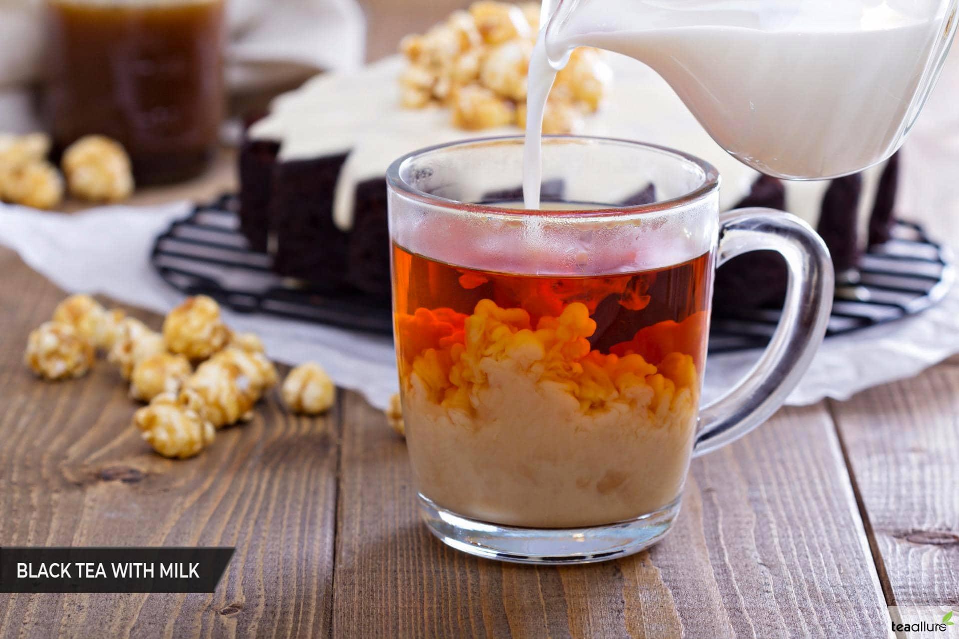 Black tea with milk recipe