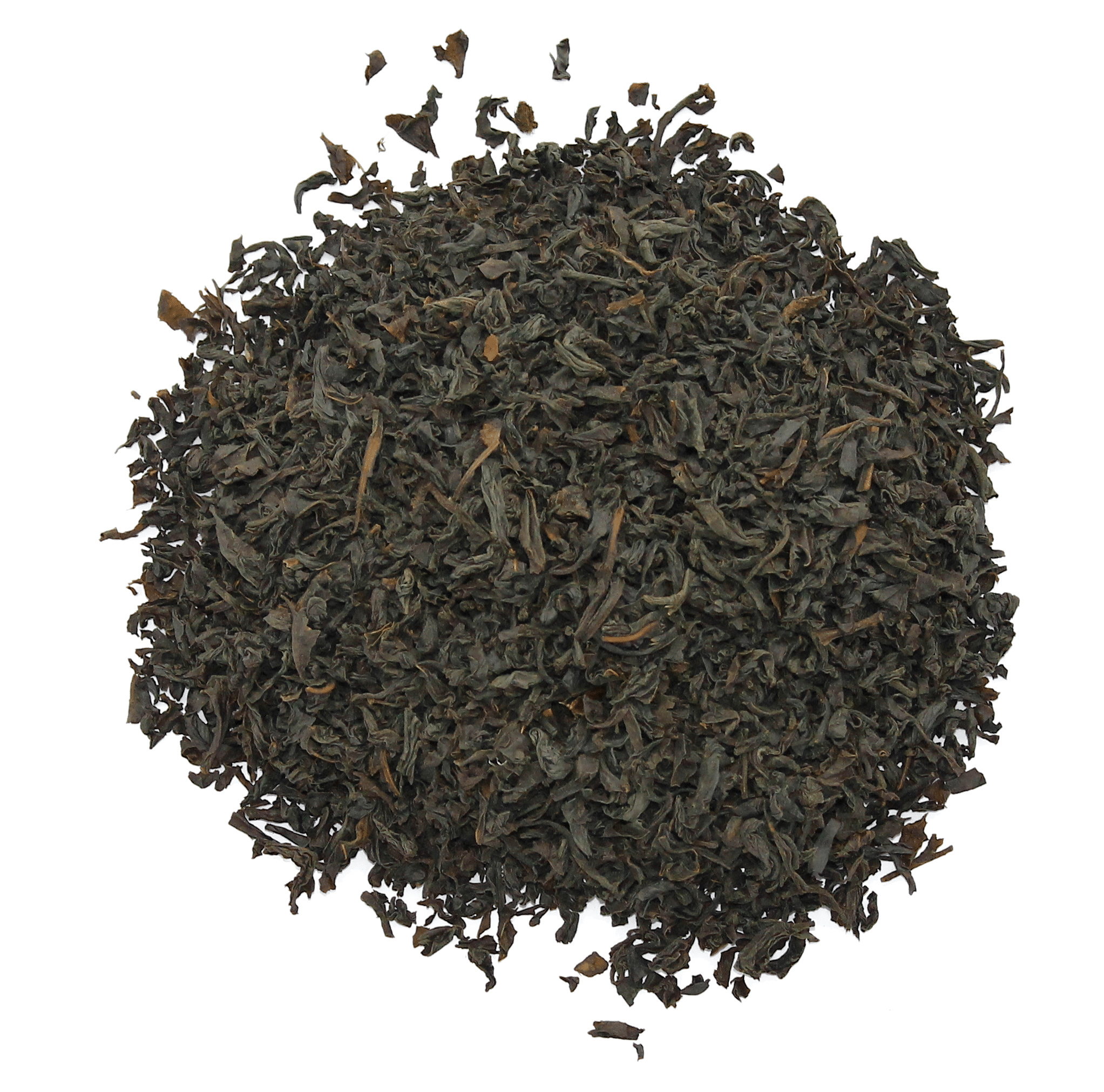 Ceylon black tea leaves
