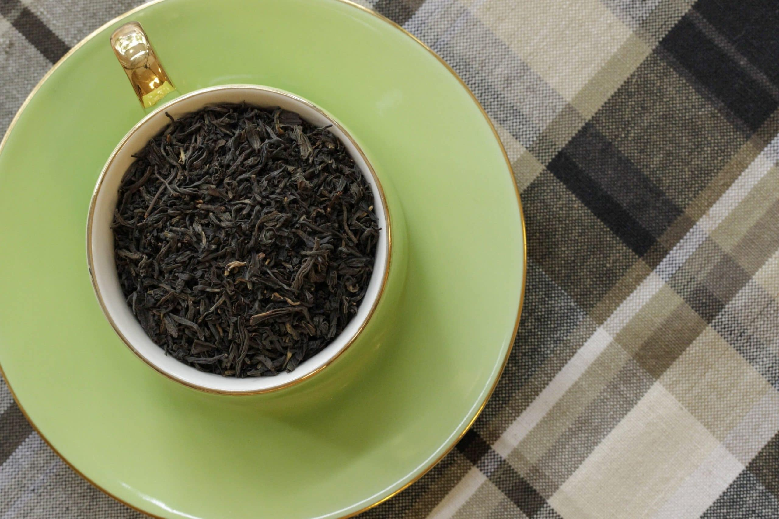 cup of Irish breakfast black tea