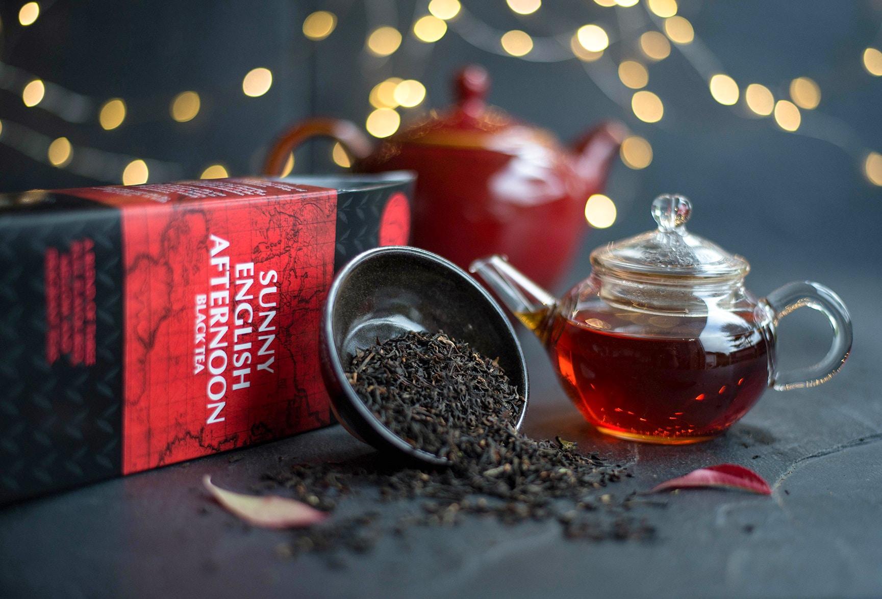 English Afternoon black tea blends