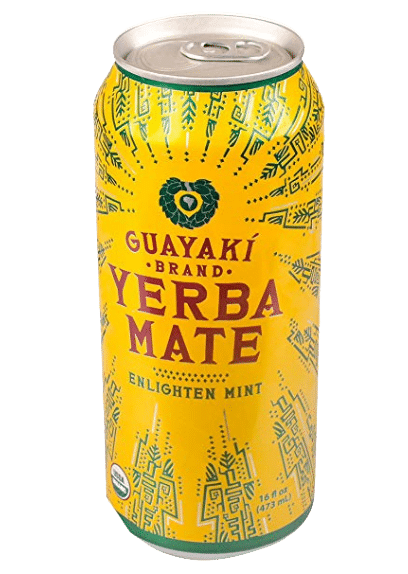 Yerba mate can drink by Guayaki