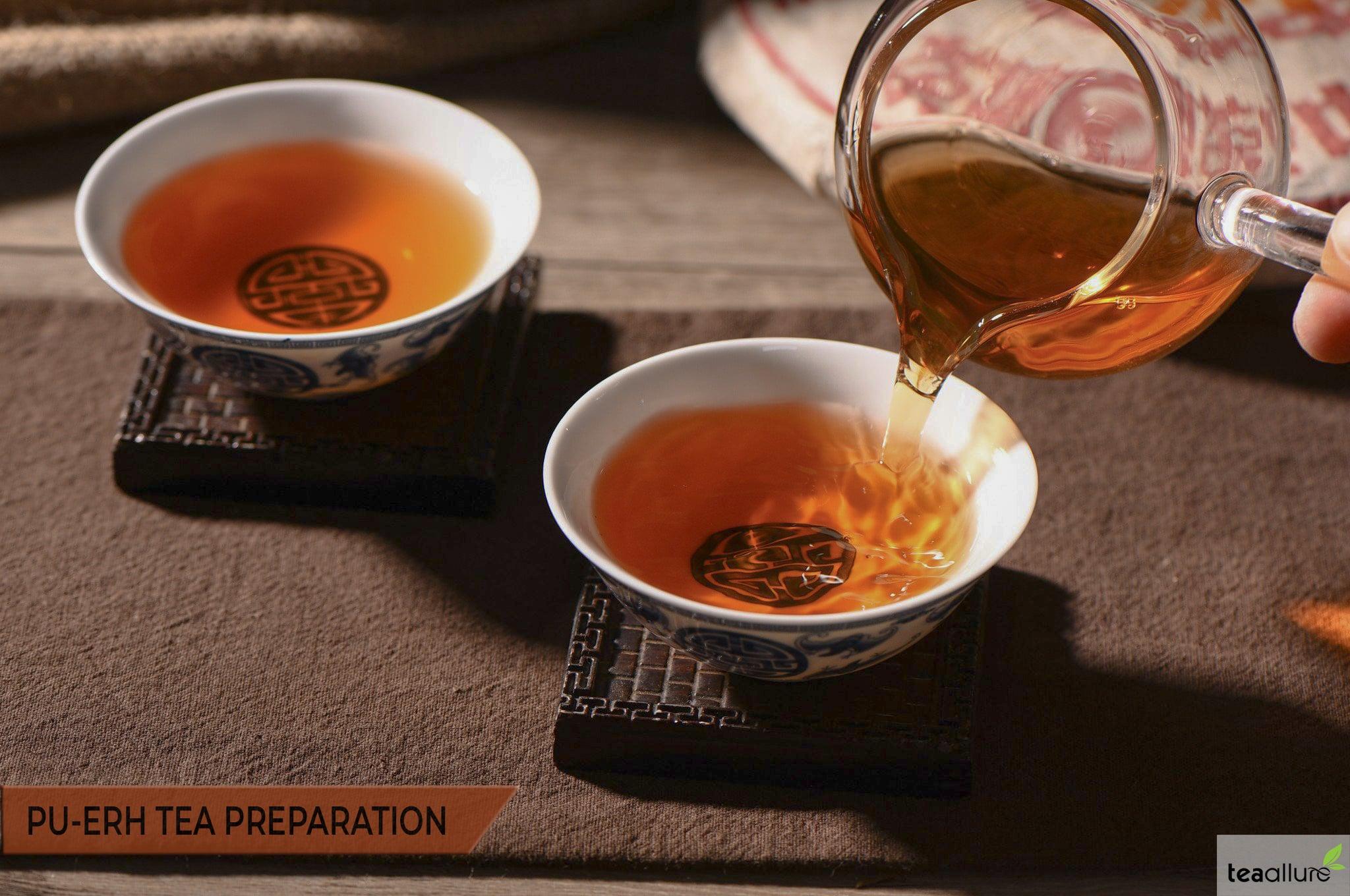 How to brew Pu-erh Tea: Preparation and Consummation