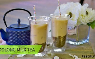 Milk in Oolong Tea
