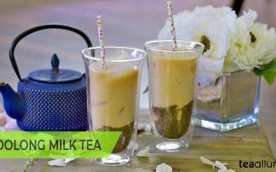 Milk in Oolong Tea