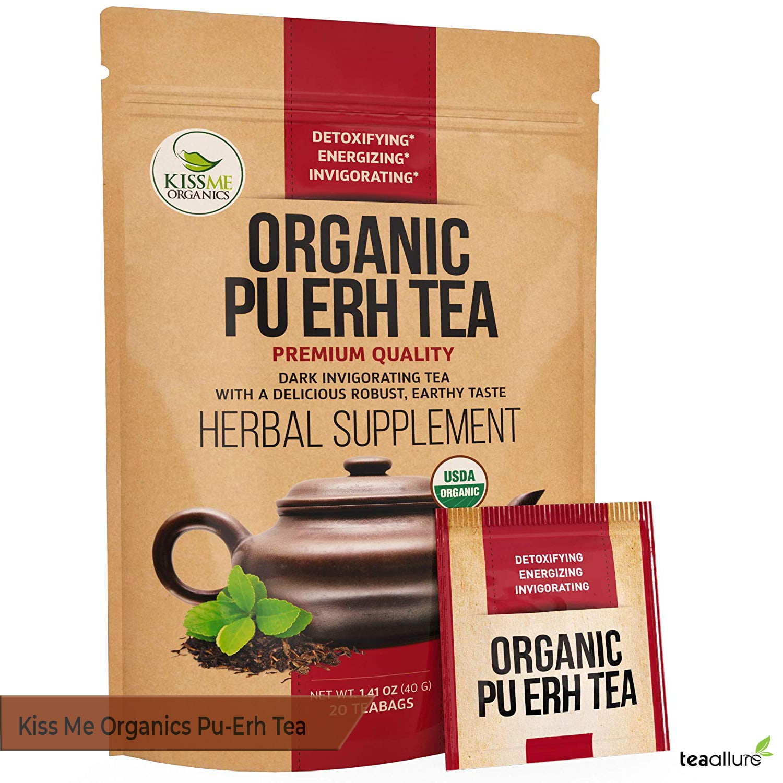 Kiss Me Organics Pu-erh tea