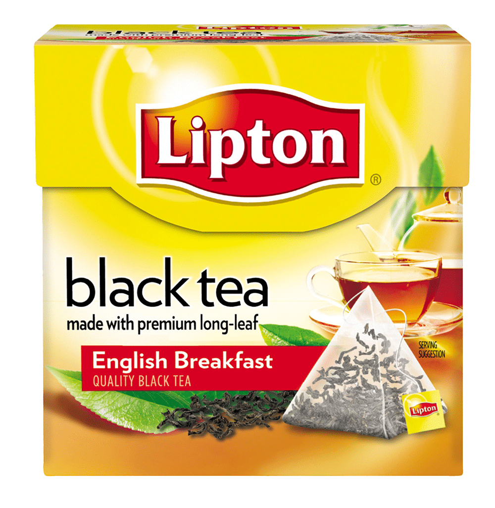 English breakfast black tea by Lipton