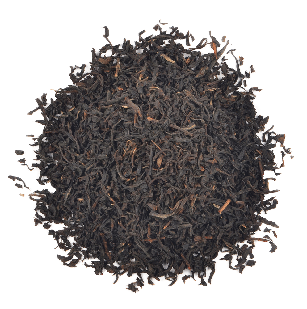 Nilgiri black tea leaves