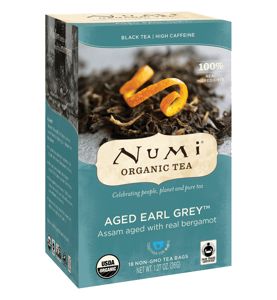 Numi Earl Grey black tea
