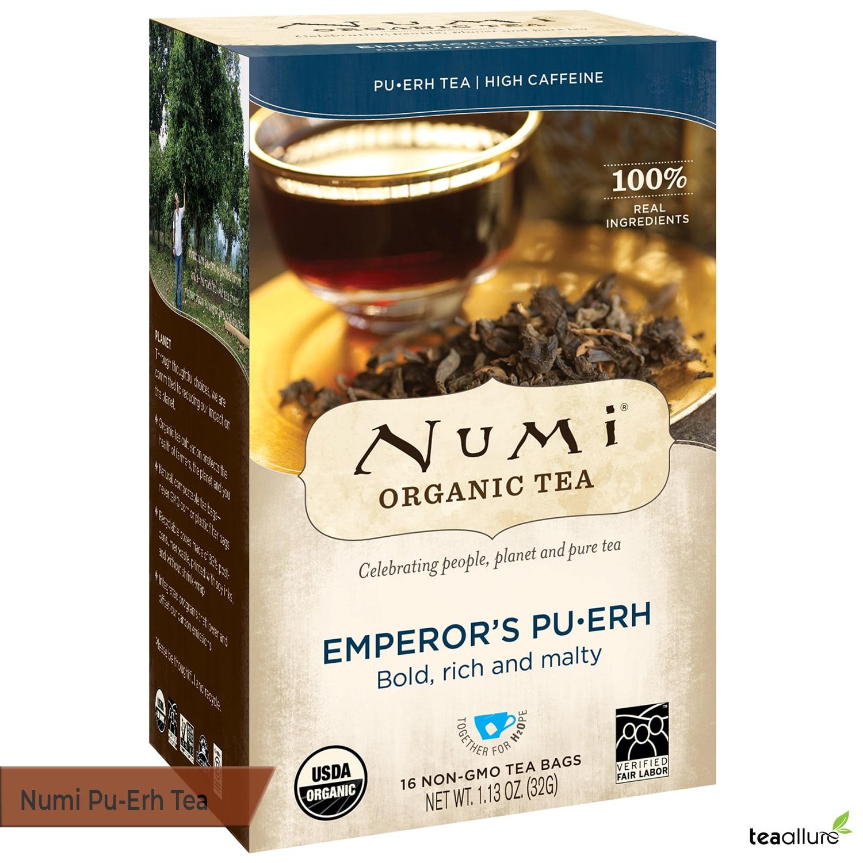 Numi Organic Pu-erh tea