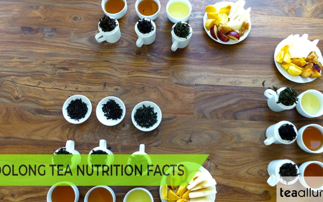 Oolong tea nutritional facts cover photo