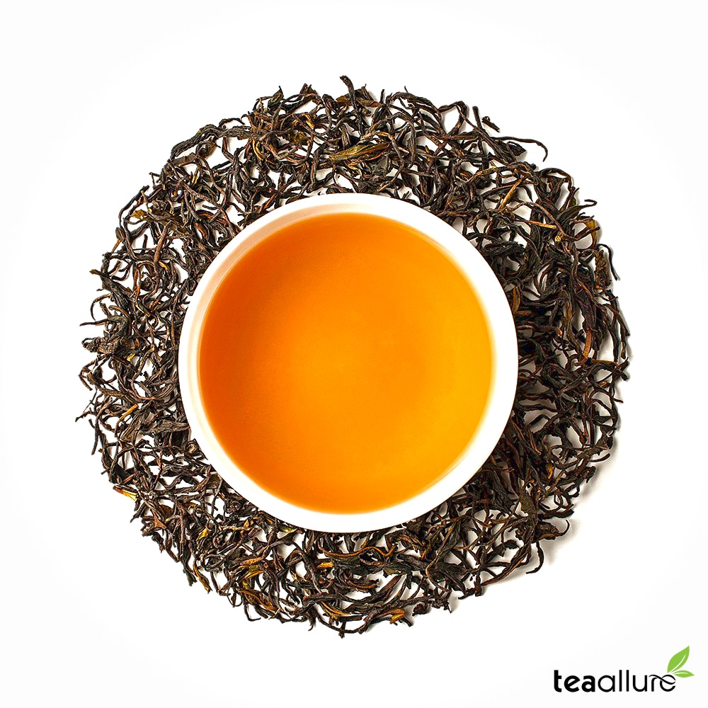 How does Organic Oolong tea looks like