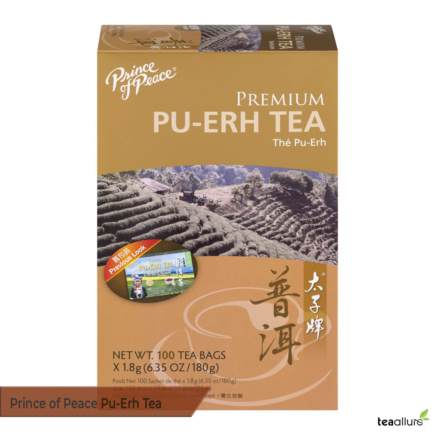 Prince of Peace Pu-erh tea