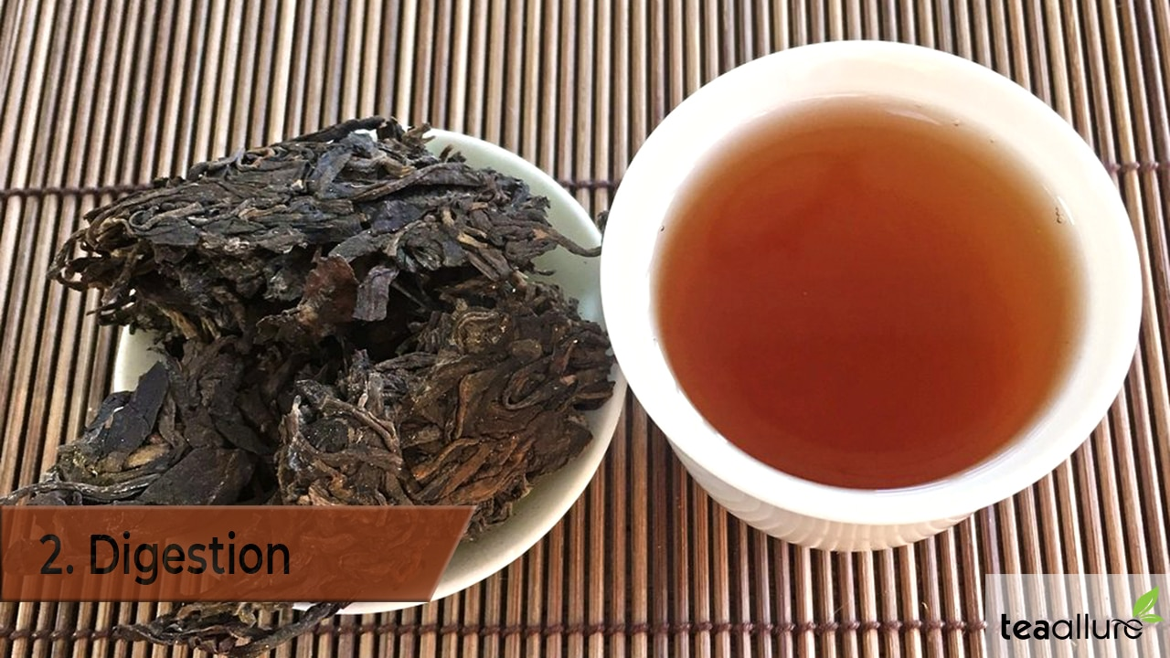 Pu-erh tea benefit: Digestion