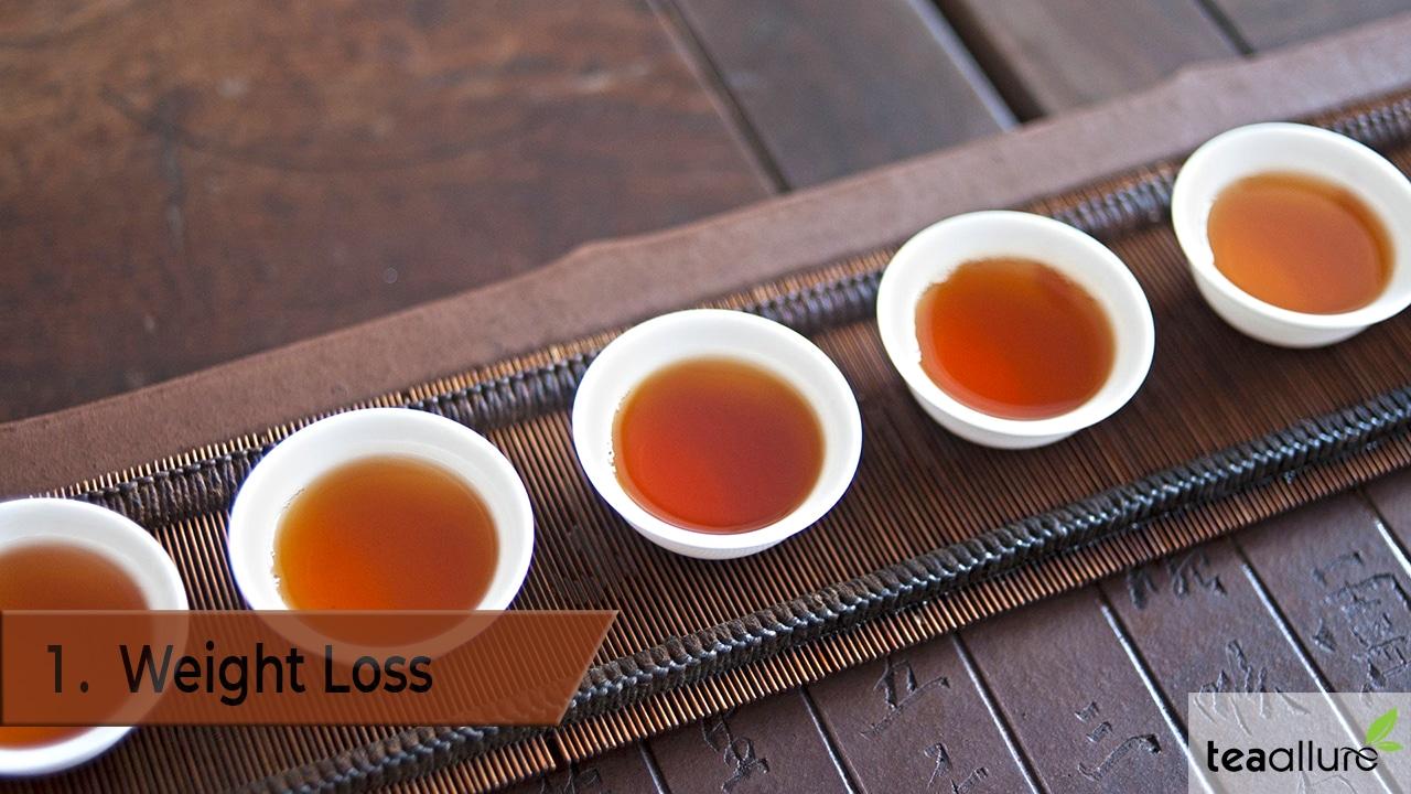 Pu-erh tea benefit: Weight Loss