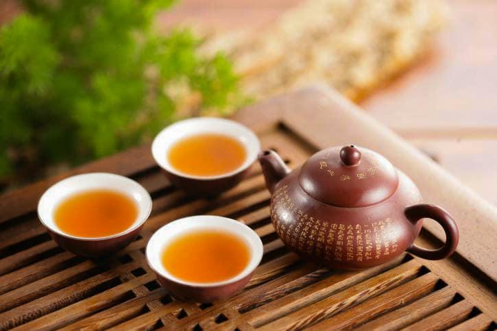 Tea consummation