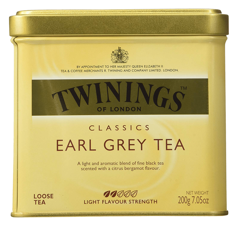Earl grey black tea by Twinings