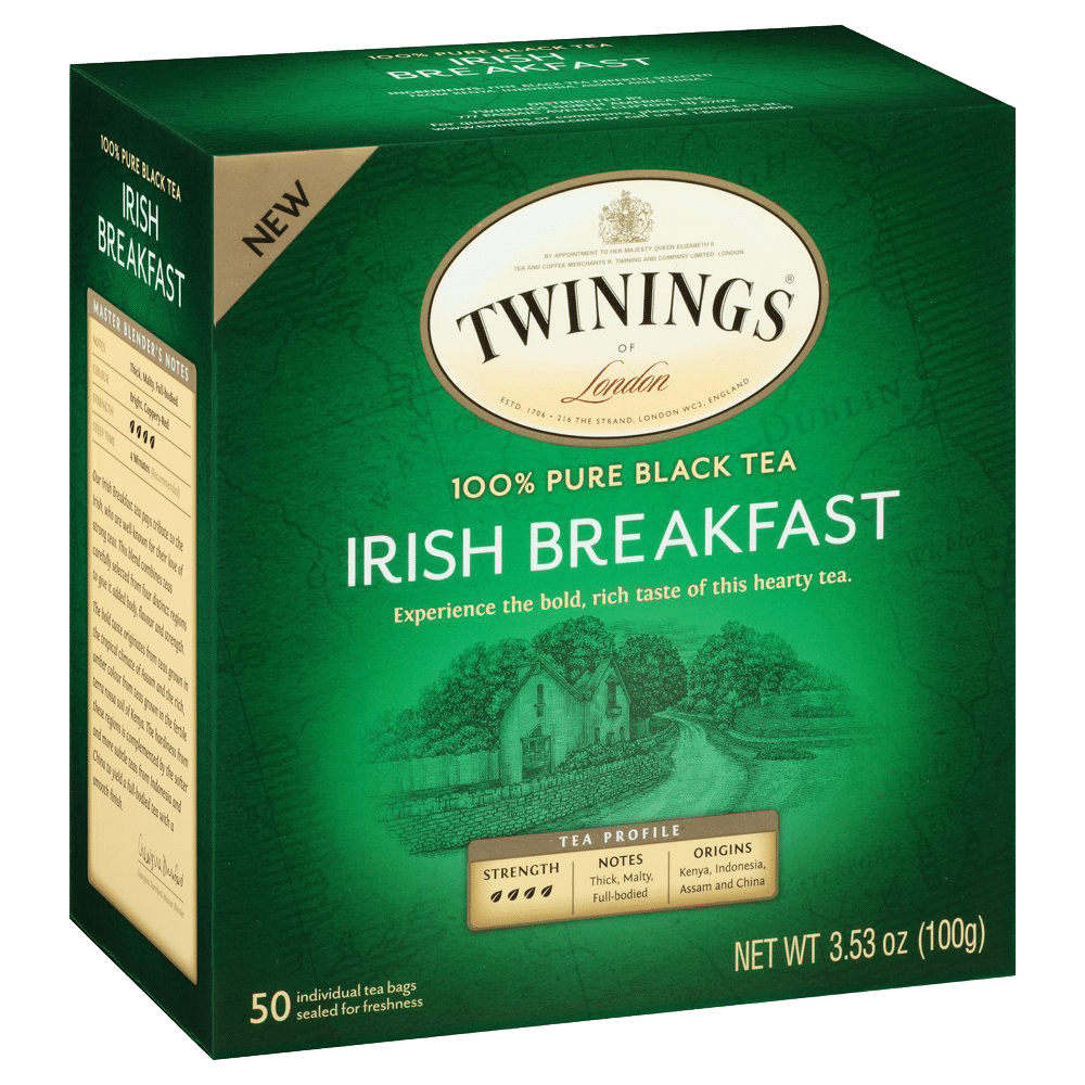 Irish breakfast black tea by Twinings